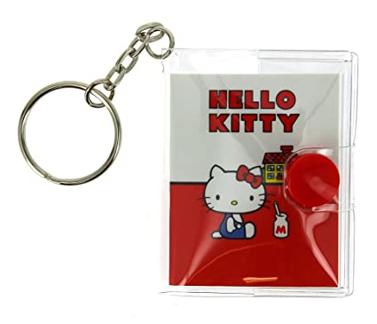 Hello Kitty Vintage llavero portátil: Amazon.es: Oficina y ...