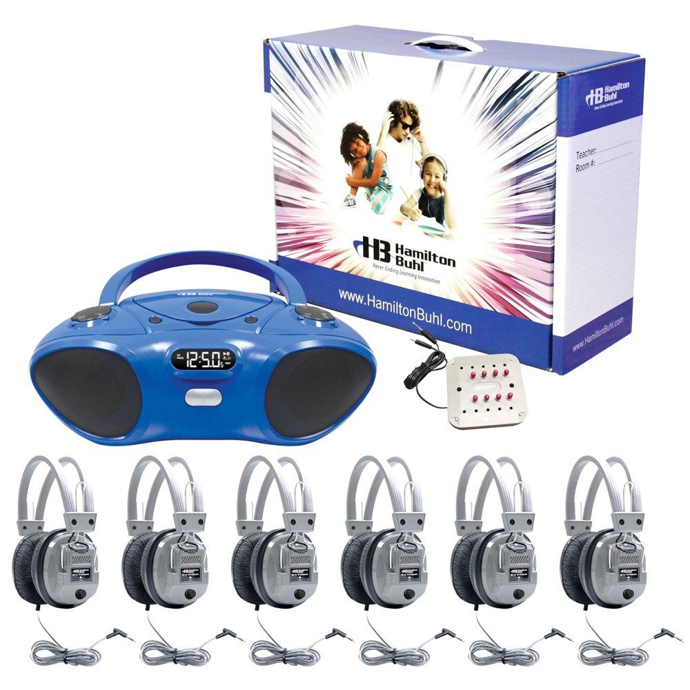 Hamilton Buhl Basic Bluetooth/CD/FM Listening Center 6 stations