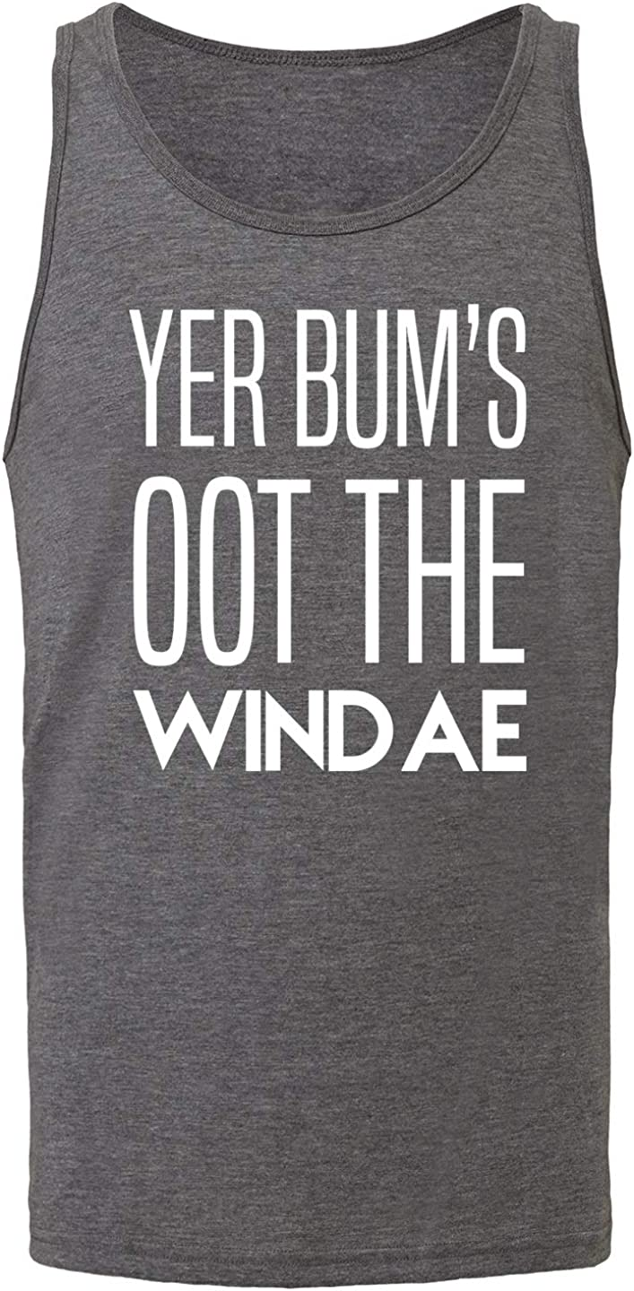 Hippowarehouse Yer Bums Oot The Windae Vest Tank Top Unisex Jersey