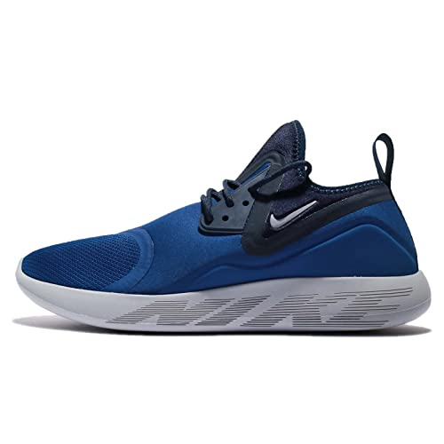 comerciante modelo Hamburguesa  Buy Nike Men's Blue Lunarcharge Essential Shoes (10 UK) at Amazon.in