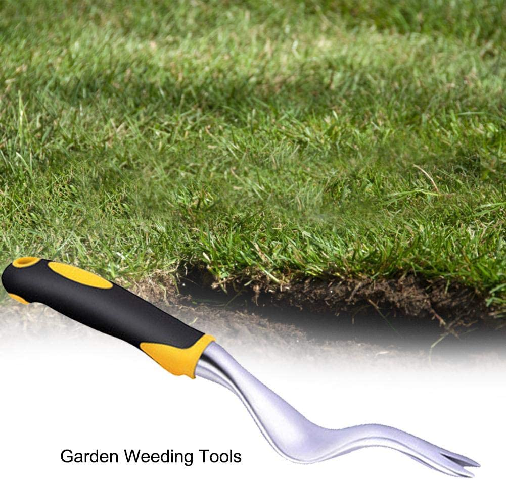 Wangyan 123 Hand Weeder Tool Gardening Root Remover Seedling Remover Ergonomic Handle Scratch Tool Garden Weeder