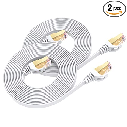 Networking Cables & Adapters 2 Pcs 7ft Cat5e Cable Ethernet Lan Network Cat5 Rj45 Patch Cord Internet Green