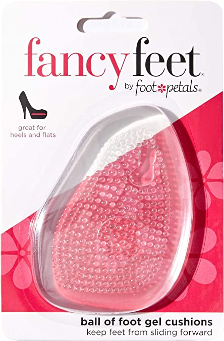 Foot Petals Fancy Feet Ball-Of-Foot Cushions Cushioned Ball Of Foot Inserts Fo