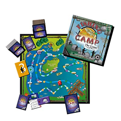 Education Outdoors Fishing Camp Board Game: Toys & Games