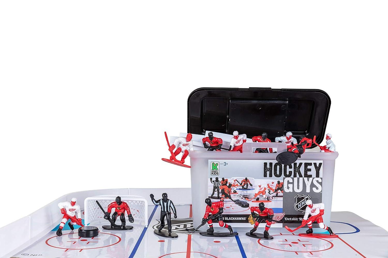 Amazon.com: Kaskey Kids Hockey Guys: Blackhawks VS. Y Alas ...