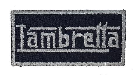 Lambretta nombre Logo Mod Target Scooter parche bordado de | alta calidad Hierro en parche bordado
