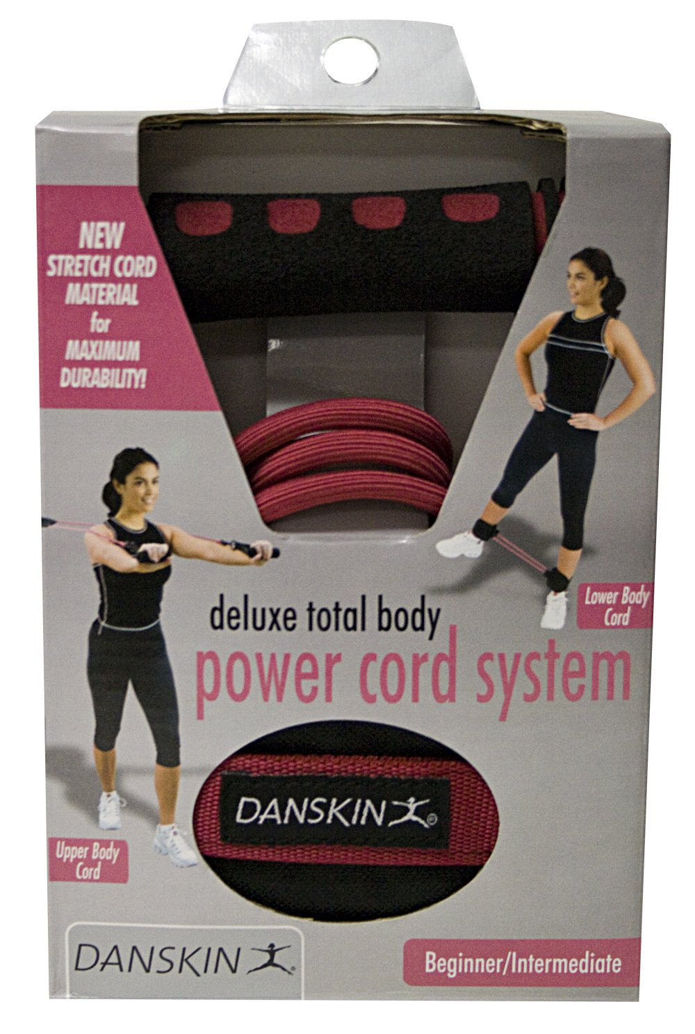 Danskin Deluxe Total Body Power Cord System DA-2857R