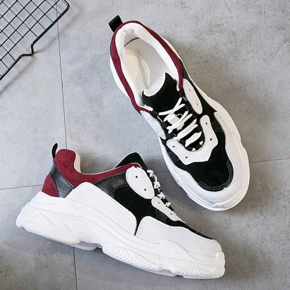 A Sandales GYHDDP Chaussures de Sport épais décontracté Wild chaussures Hiver Simple Face Chaussures 2 Couleurs Disponibles Taille en Option (Couleur   B, Taille   37)