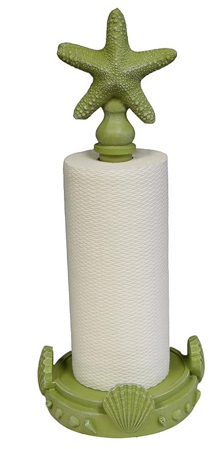 Coastal Paper Towel Holder Extraordinary Amazon Hickory Manor House Starfish Paper Towel HolderCoastal