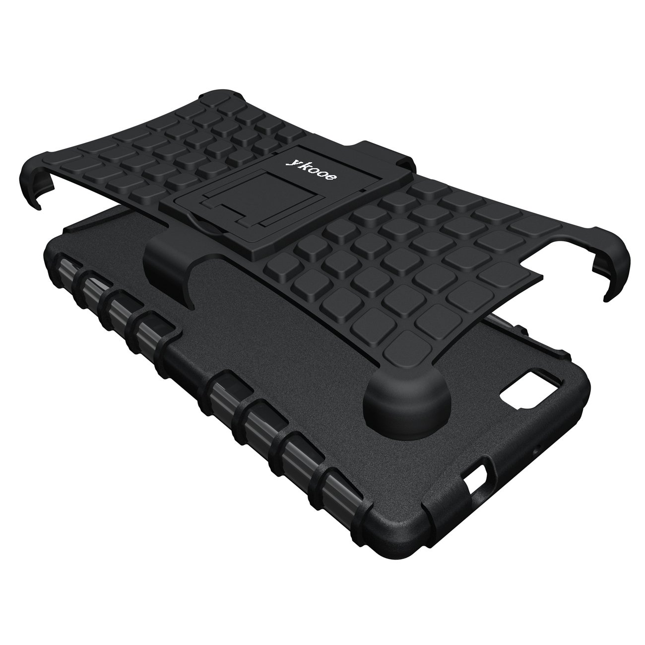 Amazon.com: Huawei P8 Lite Funda, ykooe Armor Heavy Duty ...