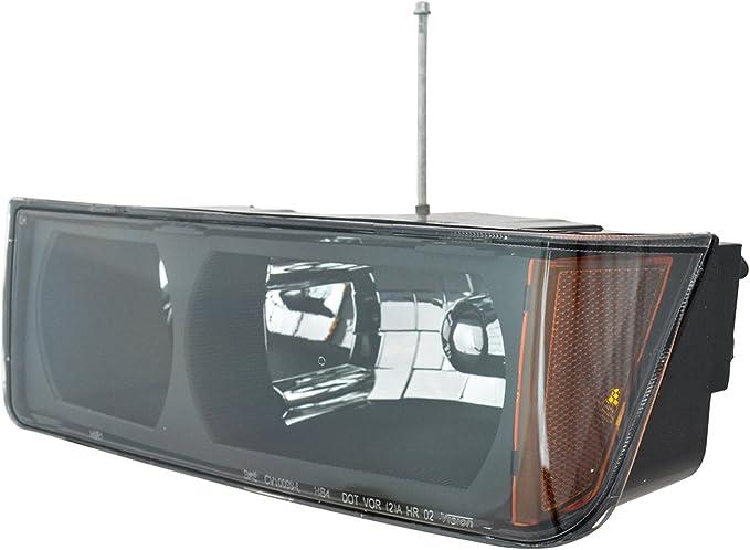 Faro delantero Headlamp conductor izquierda LH para 02 – 05 chevy Avalancha pastilla camión: Amazon.es: Coche y moto