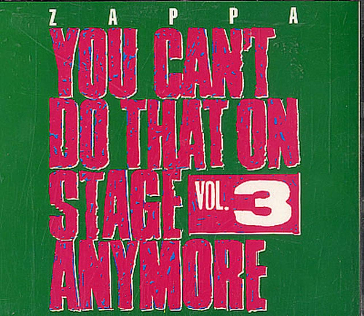 NEW before selling ☆ Our shop most popular You can't do that 3 on anymore stage