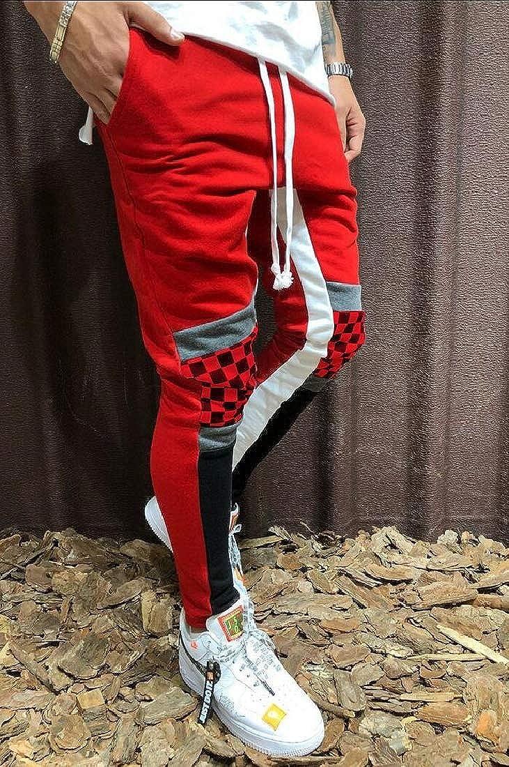 omniscient Mens Active Fitness Drawstring Loose Pocket Sweat Pants