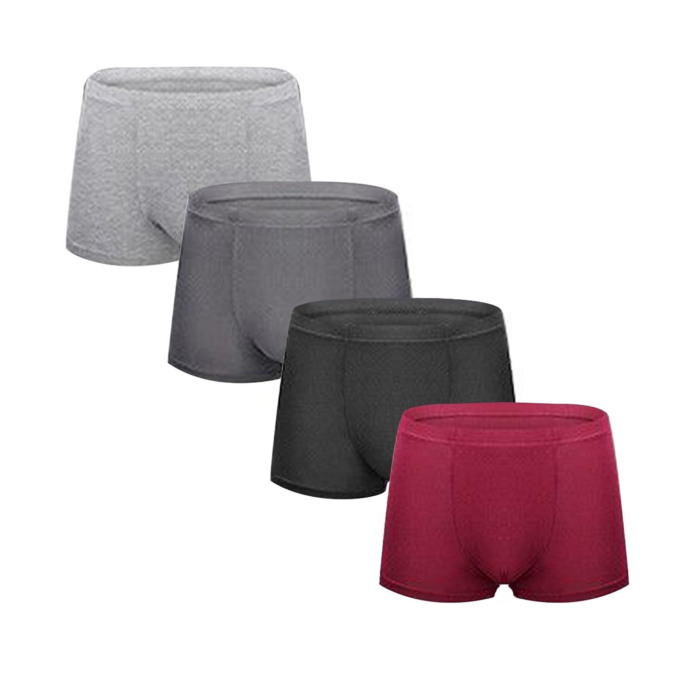 Boxers Shorts Mens Underwear Boxers para hombres Pack de 4, Male's Trunk L XL XXL Male's Trunk L XL XXL
