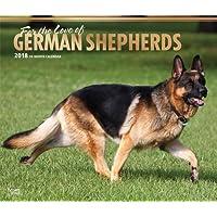 For the Love of German Shepherds 2018 Calendar