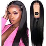 Straight Lace Front Wigs Human Hair for Black Women (18 Inch 180% Density) Jaja Hair Human Hair Wigs 13x4 Lace Wigs Pre…