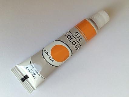 Huile d'Orange peinture Tube Professionnel