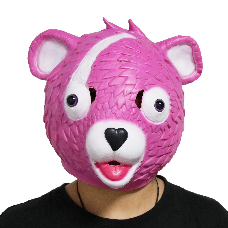 CoserWorld Fortnite Costume Latex Mask Fox Drift Mask Kitsune Mask
