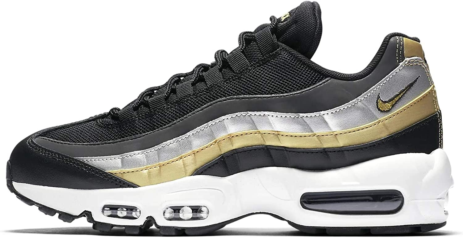 irregular triste cafetería  Nike Air Max 95 Lux Metallic Women's Trainers (3 UK): Amazon.co.uk: Shoes &  Bags