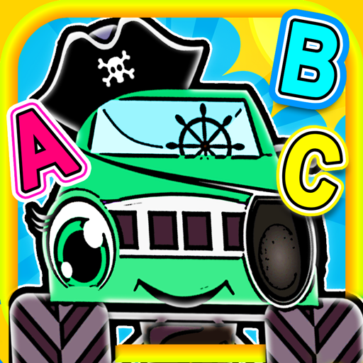 Pirate Preschool Monster Trucks - Help rescue the machines and solve -