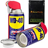 WD-40 Diversion Safe Stash Can w HumanFriendly Smell-Proof Bag