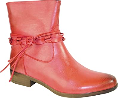 Women Spring Bootie SD5403 with Strap Details