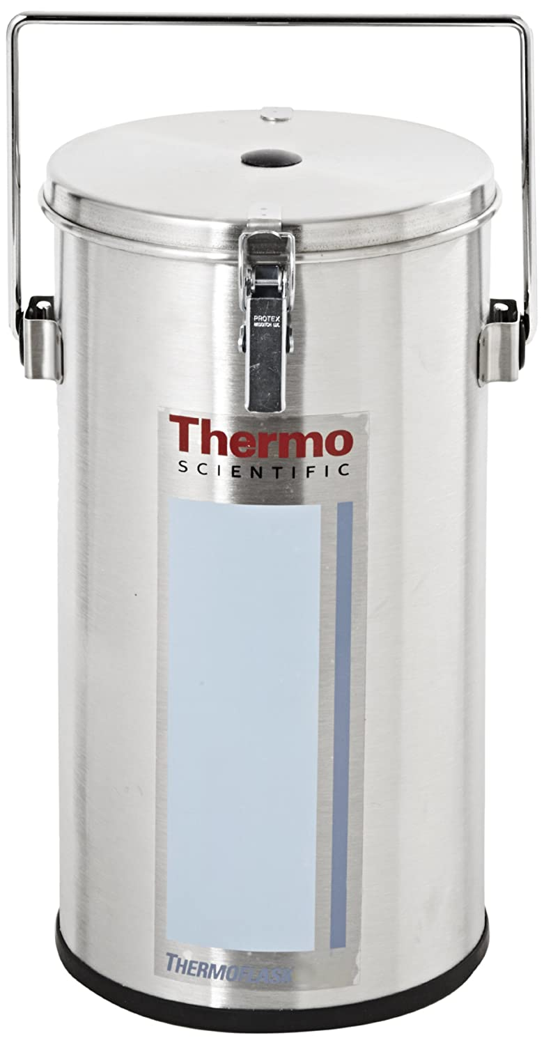 Amazon.com: Thermo Scientific 2124 4.5L boca ancha de acero ...