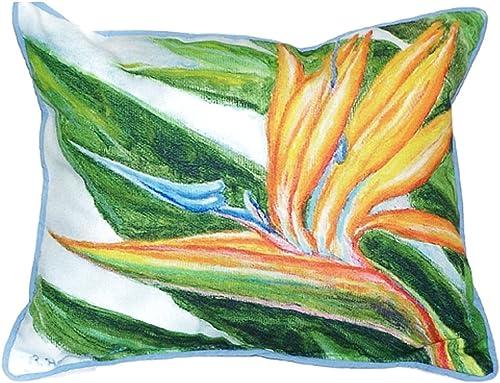 Betsy Drake Bird of Paradise Pillow, 16 x 20