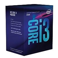 Intel Core i3-8100 Prozessor (8 Generation, 3,60 GHz, 6 MB Intel Smart-Cache)