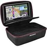 "HESPLUS Hard Shockproof EVA Carrying Storage Travel Case Bag for 6-7"" Inch Garmin nuviCam nuvi 2797LMT 65LM 2757LM 2689LMT Tomtom Go Via Mio GPS Navigator and Accessories (Black)"
