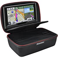 """HESPLUS Hard Shockproof Storage Travel Case Bag Compatible with 6-7"""" Inch for Garmin nuviCam nuvi 2797LMT 65LM 2757LM 2689LMT Tomtom Go Via Mio GPS Navigator and Accessories"""