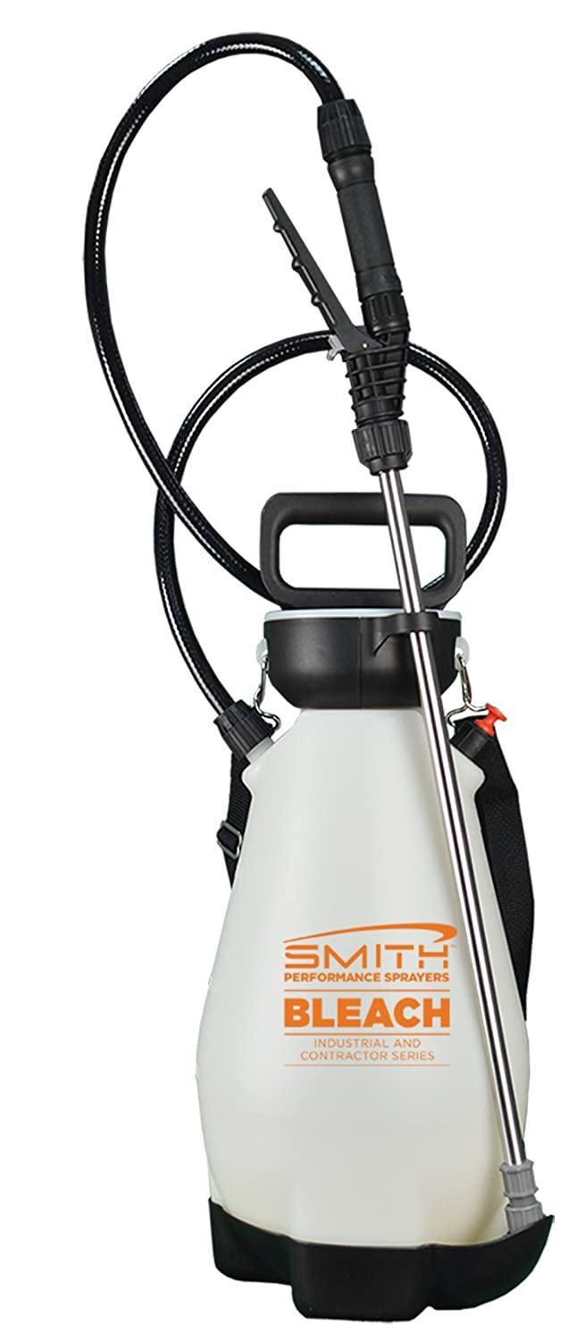 Smith Performance Sprayers 190447 2 Gallon Bleach Sprayer for Pros Removing Mold, Degreasing or Cleaning