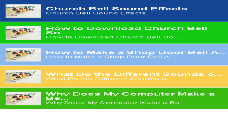 Amazon com: Bells Sound: Appstore for Android