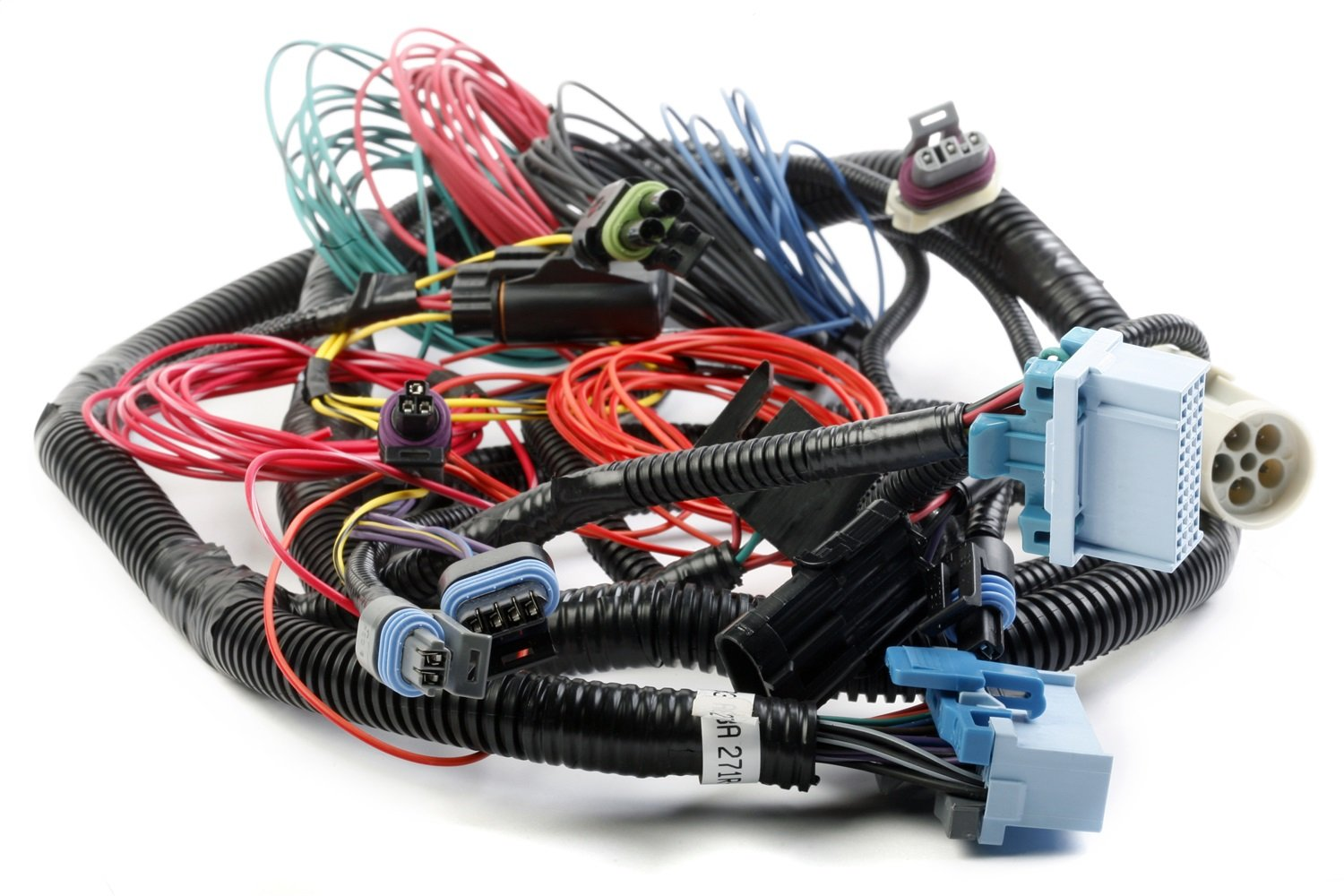 amazon com holley 534 147 commander 950 main wiring harness automotive L Wiring Harness