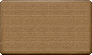 product image for GelPro NewLife 18 In. x 30 In. Khaki Grasscloth Designer Comfort Mat - 1 Each