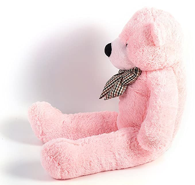 More Gentle del 120cm Gran muñeco de peluches oso color rosa: Amazon.es: Juguetes y juegos