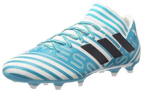 TG. 44 2/3 EU adidas Nemeziz Messi 74 FxG Scarpe da Calcio Uomo Blu Footwea