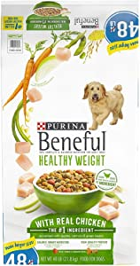 Purina Beneful Healthy Weight with Real Chicken Adult Dry Dog Food (48 lbs.) ES
