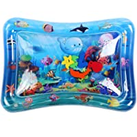 Infant Toy Gift Activity Play Mat,Baby Infant Toddlers Inflatable Water Play Floor Mat Children Growth Activity Tool…