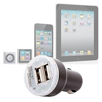 DURAGADGET Cargador De Coche con Dos Portes De USB para El ...