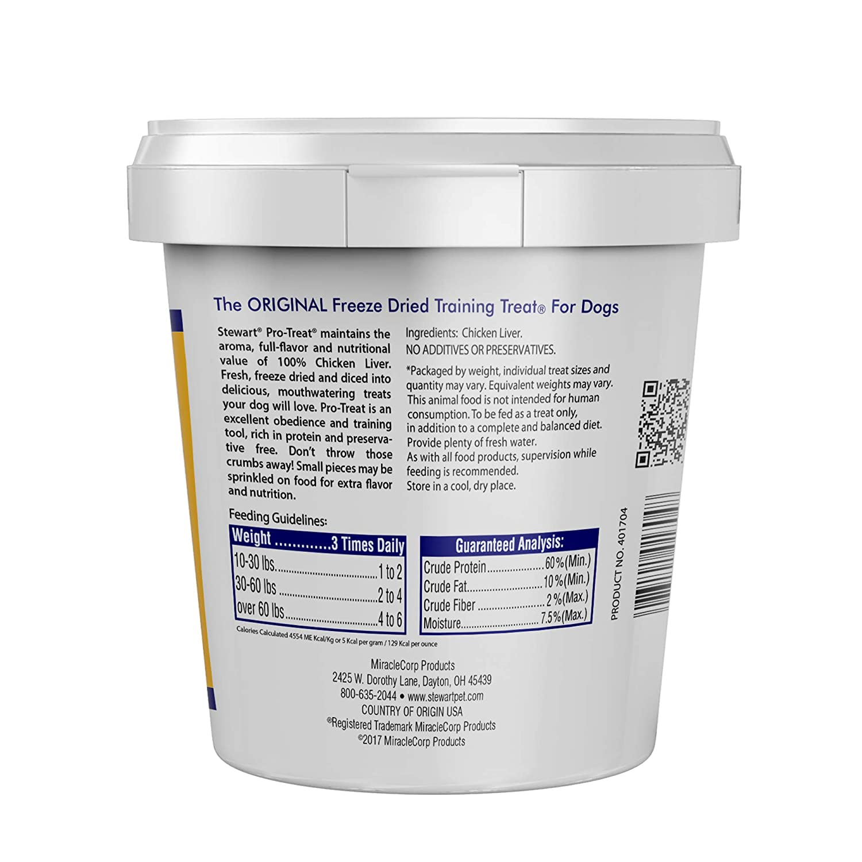 Stewart Freeze Dried hígado alimento para Perros: Amazon.es ...