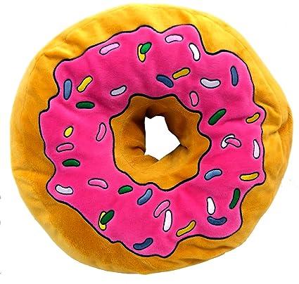 brigamo 16840 - XXL, manta cojín de felpa Donut extra gruesa ...