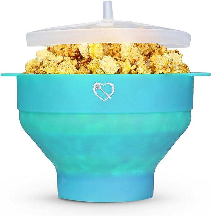 Vivir sano microondas palomitas de maiz poppers – Palomitero con ...