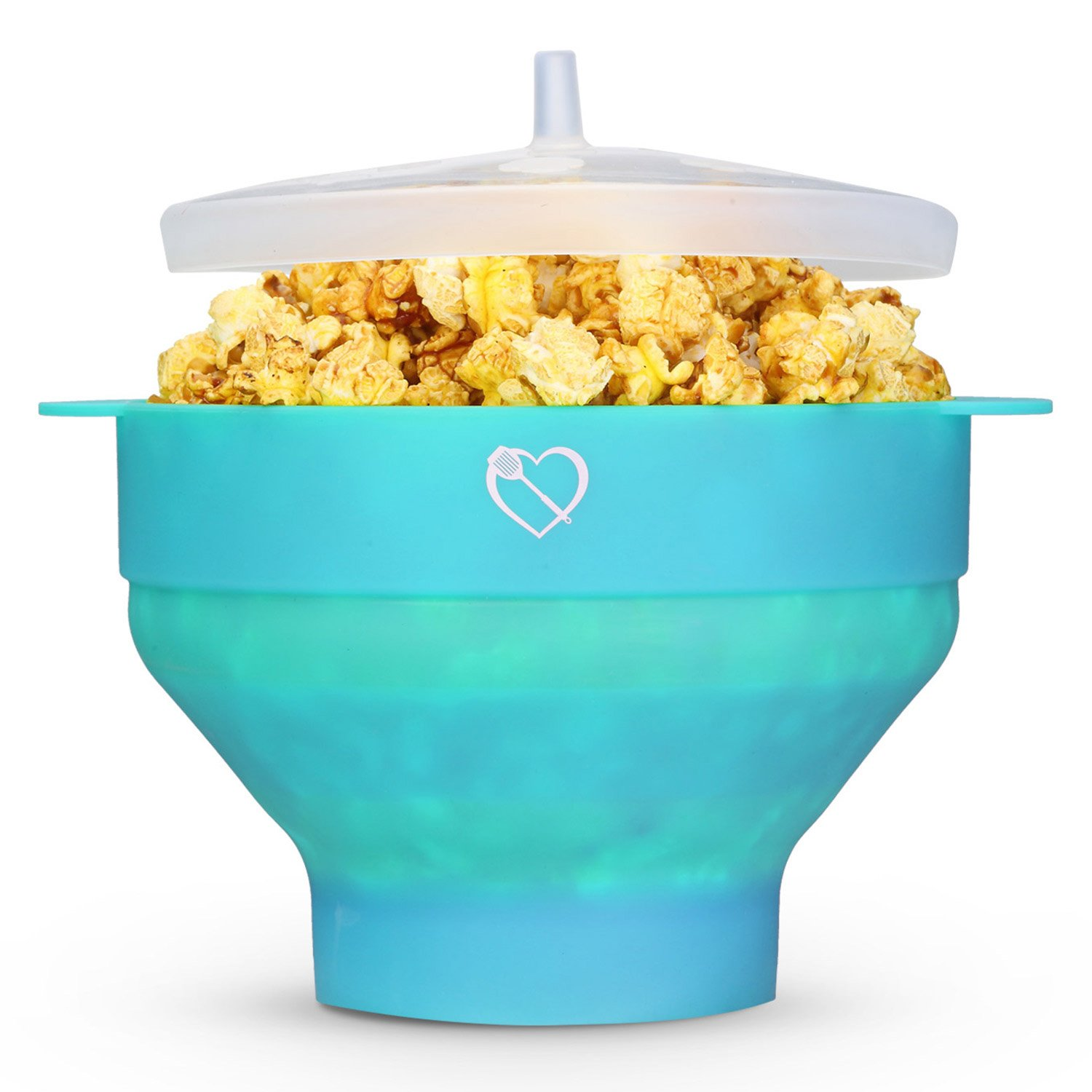 how to make healthy popcorn in microwave