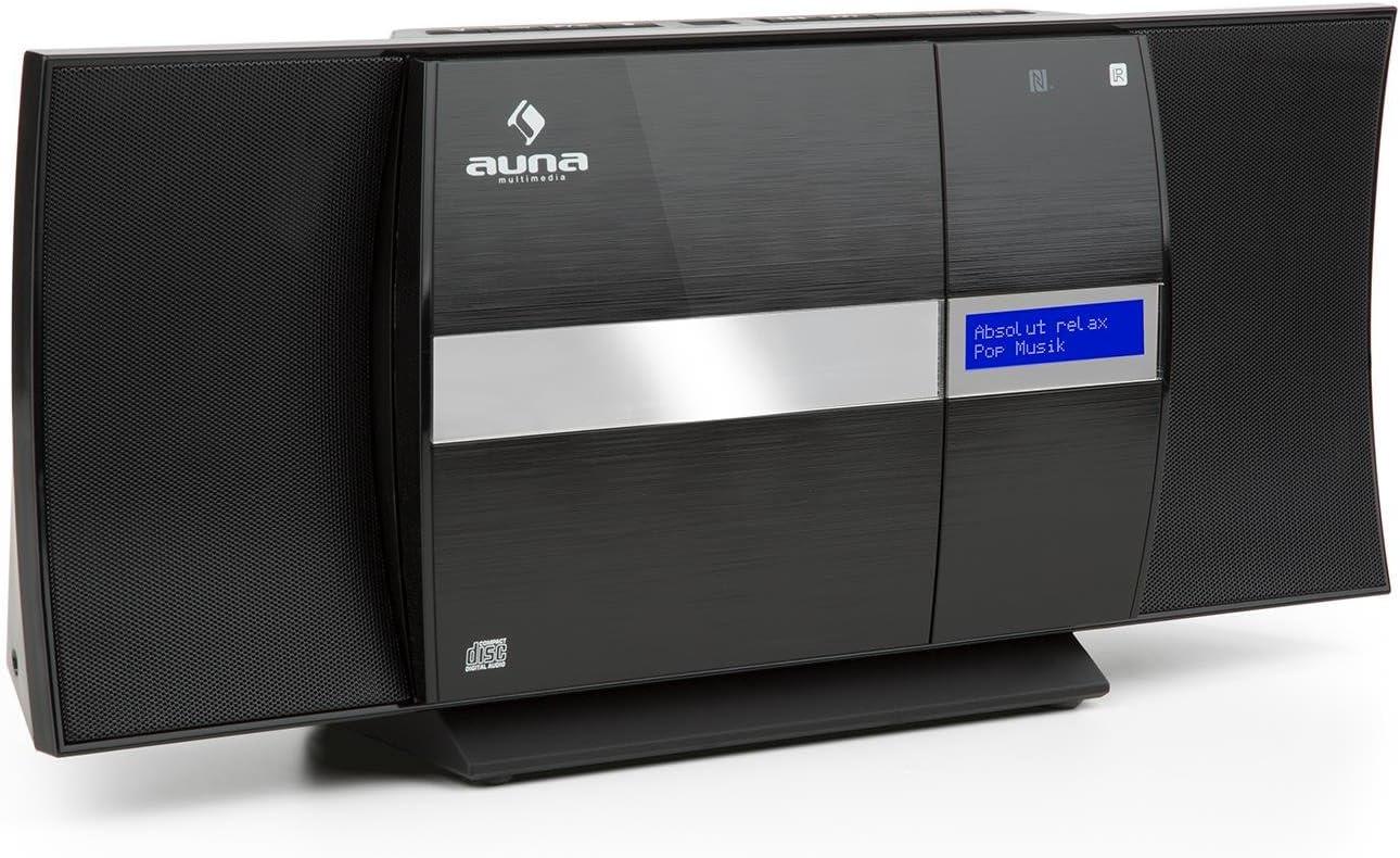 Auna V 20 Kompaktanlage Mit Cd Player Und Dab Tuner Elektronik