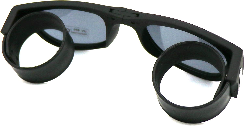 Yatnchan Folding Flexible Polarized Lenses Sport Silicone Wrist Sunglasses