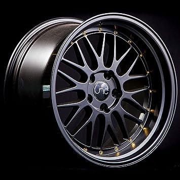 5x120-17x8.5 inch 17 JNC005 Gold Machined Lip Rim JNC Wheels