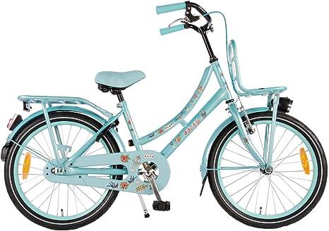 Bicicleta Niña 20 Pulgadas Tattoo Azul 95% montado: Amazon.es ...