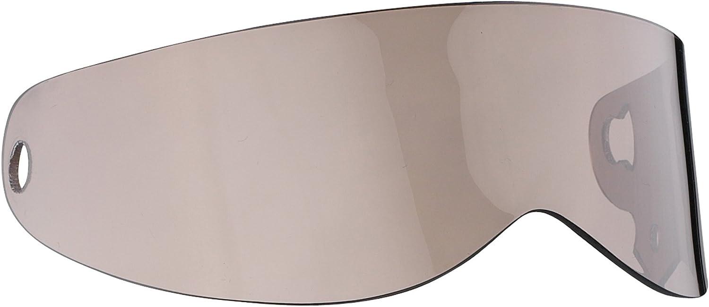 Bandit Visier XXR,Crystal,Super Street 2,G4,Klar,get/önt,Schwarz,verspiegelt Sports-Farbe:Silver