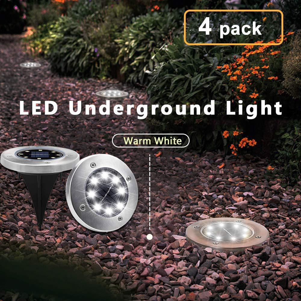 Diamond Stake Solar Ground Lights for Outdoor Garden